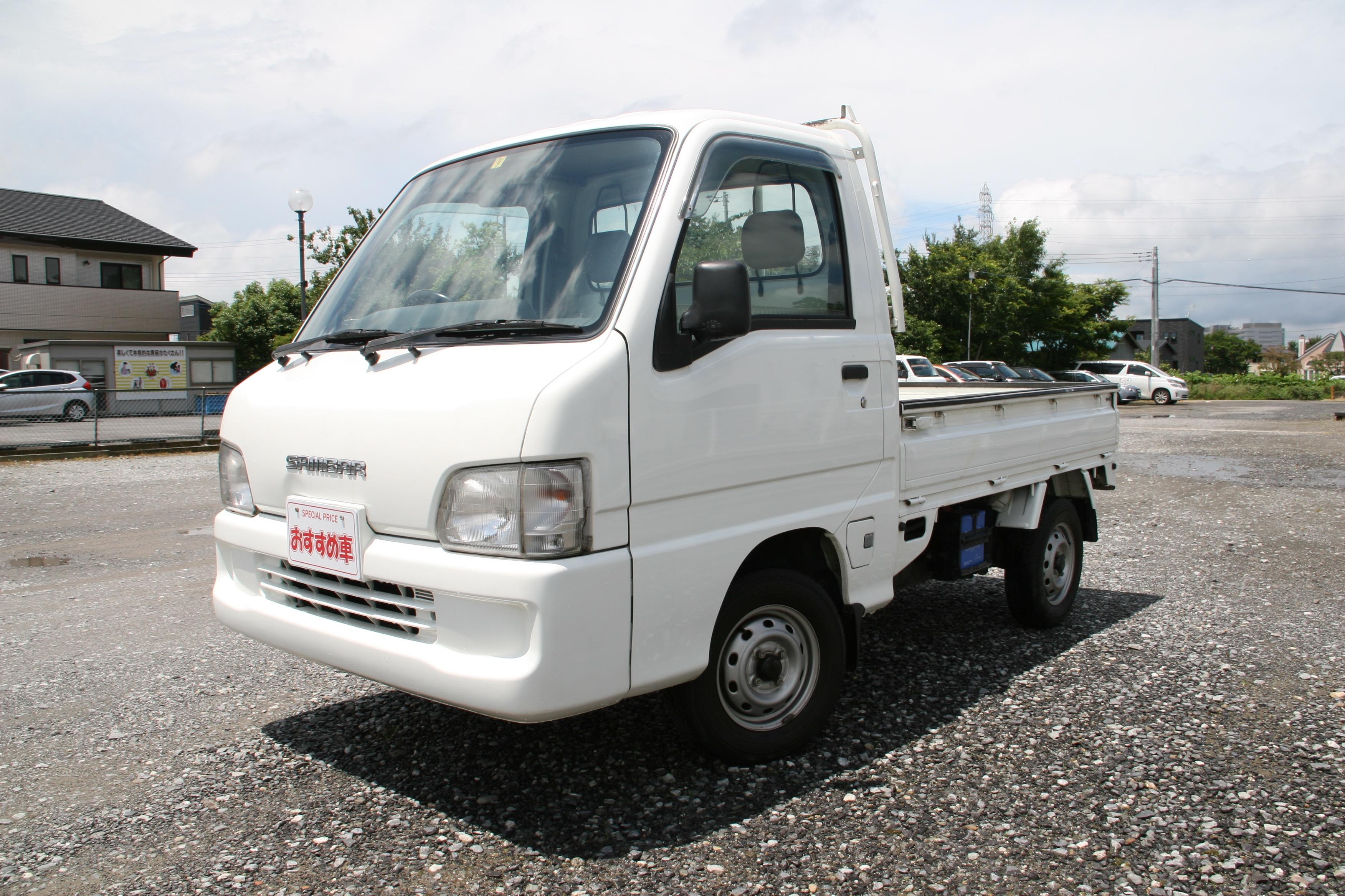 スバル サンバートラック4WD  税込36万8千円