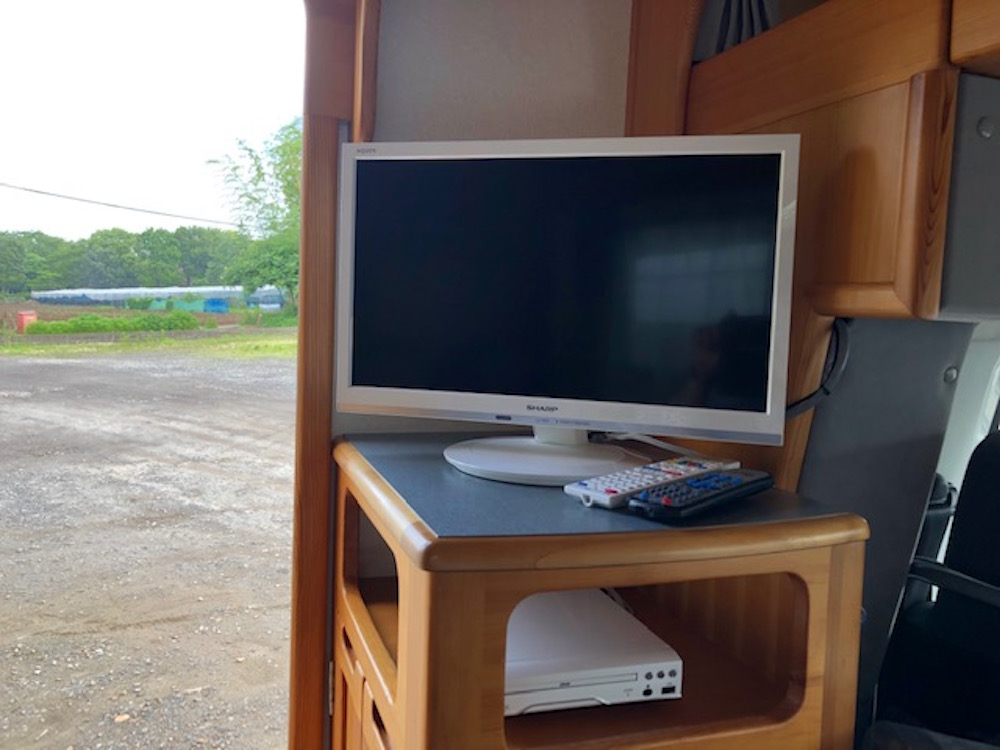 TV、DVDデッキが新品で追加されました
