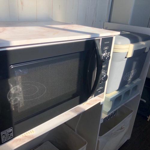 電子レンジ、冷蔵庫完備となっております!