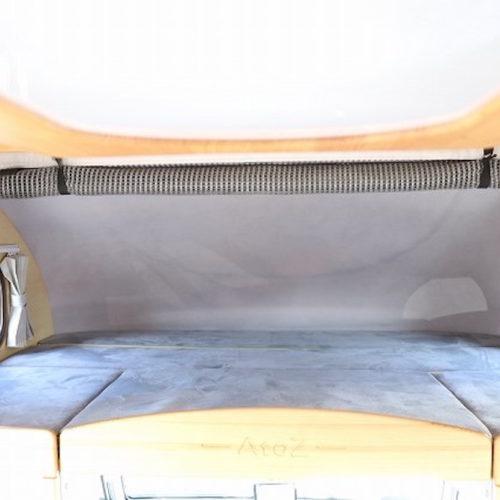 天井スペースも2名様ベッドになっております。