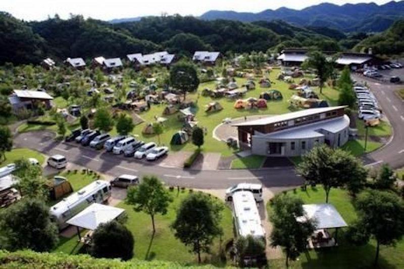 大子広域公園 オートキャンプ場グリンヴィラ